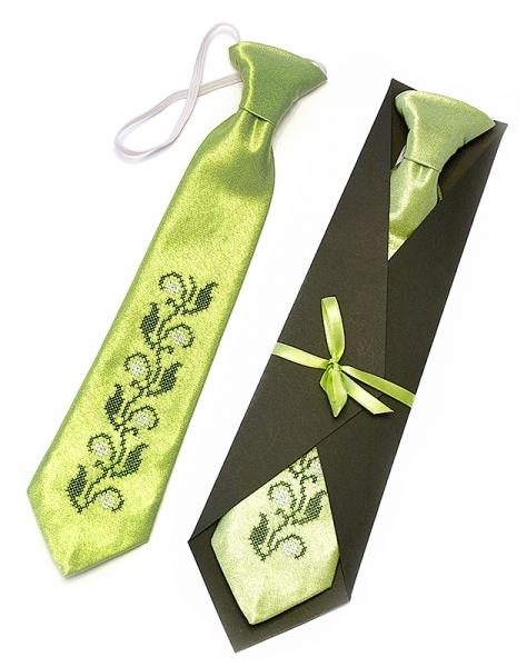 Дитячий галстук з вишивкою Віст