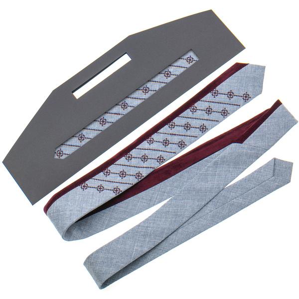 Оригінальна вишита краватка №814