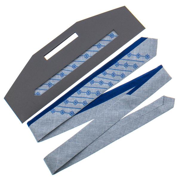 Оригінальна вишита краватка №815
