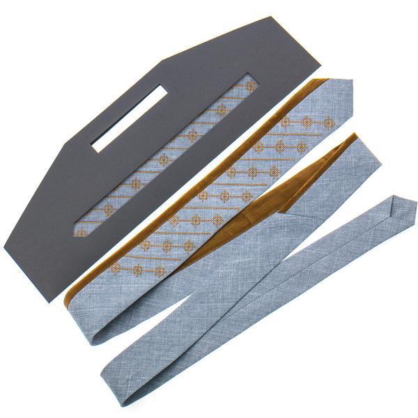Оригінальна вишита краватка №818