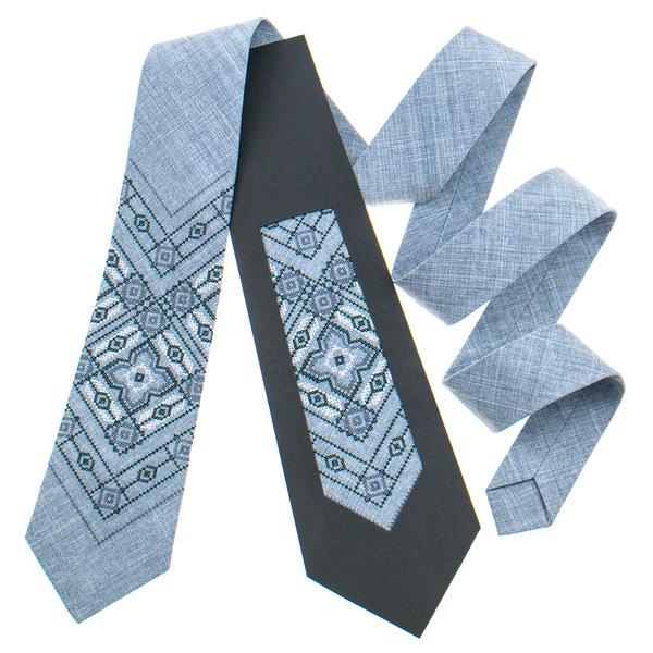 Класична краватка з вишивкою №920