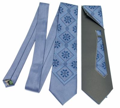 Краватка з вишивкою Мстислав