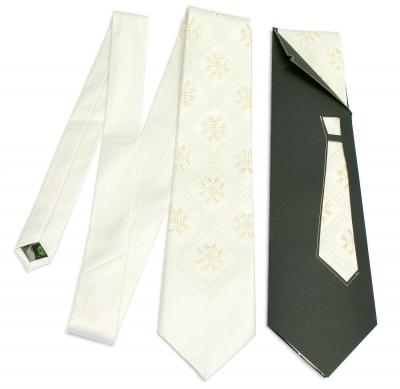 Краватка з вишивкою Ангел