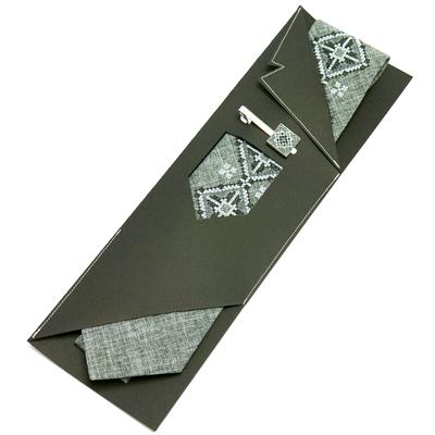 Вишита краватка та зажим Вітан