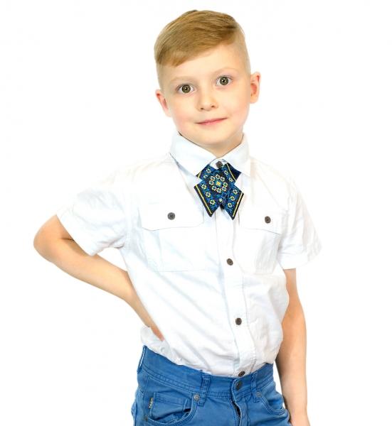 Дитяча крос-краватка з вишивкою Милан