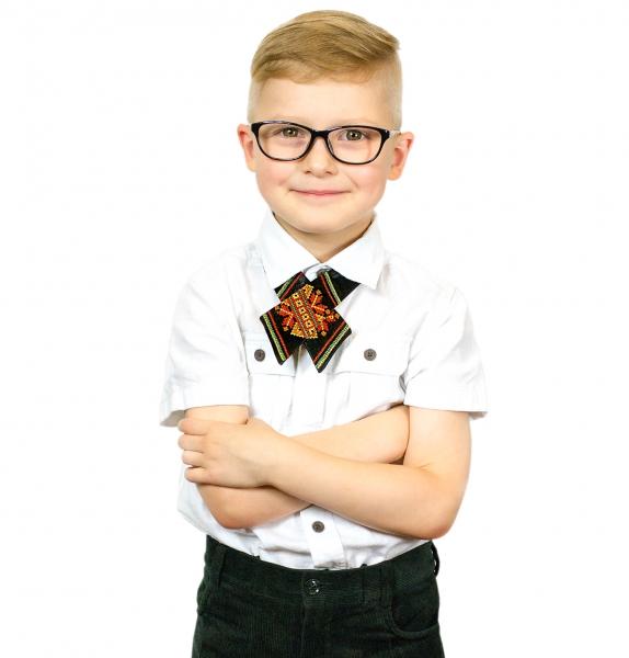 Дитяча крос-краватка з вишивкою Зорегляд
