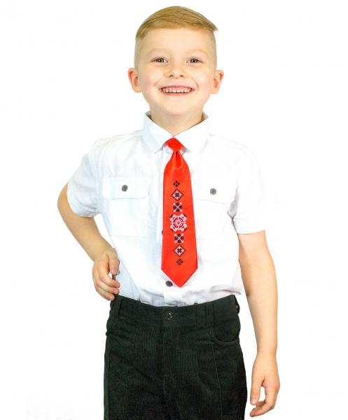 Дитячий галстук з вишивкою Радислав