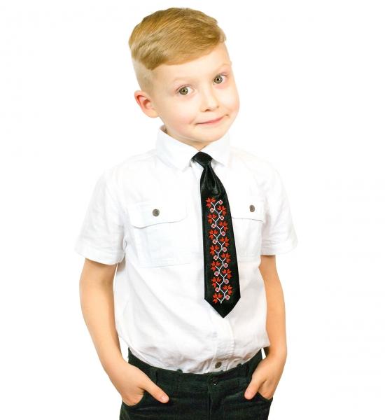 Дитячий галстук з вишивкою Малик