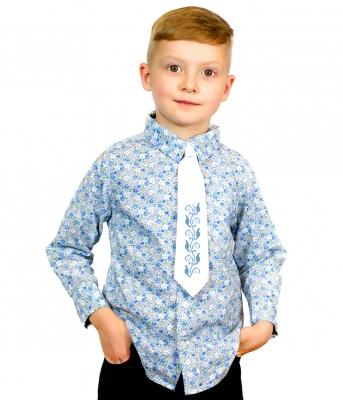 Дитячий галстук з вишивкою Добрик