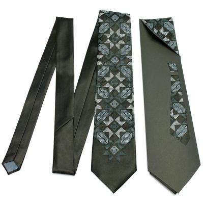 Краватка з вишивкою Марун