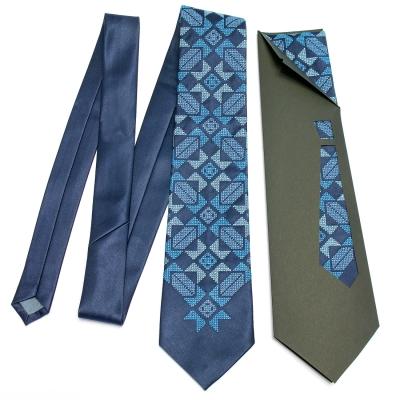 Краватка з вишивкою Завид