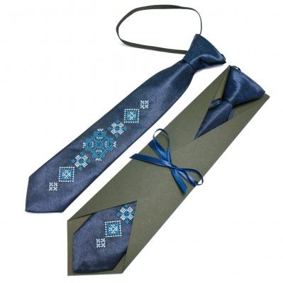 Дитяча вишита краватка Ідан