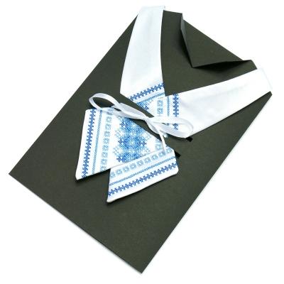 Крос-галстук з вишивкою Бела