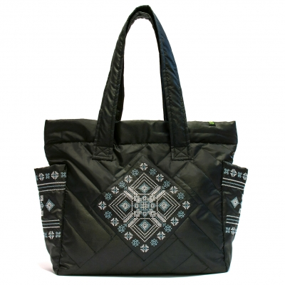 Дута сумка з вишивкою №4