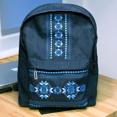 Джинсовий рюкзак №605