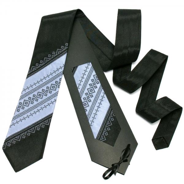 Оригінальна вишита краватка №645