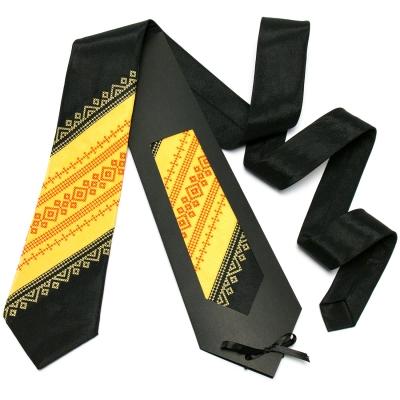 Оригінальна вишита краватка №646