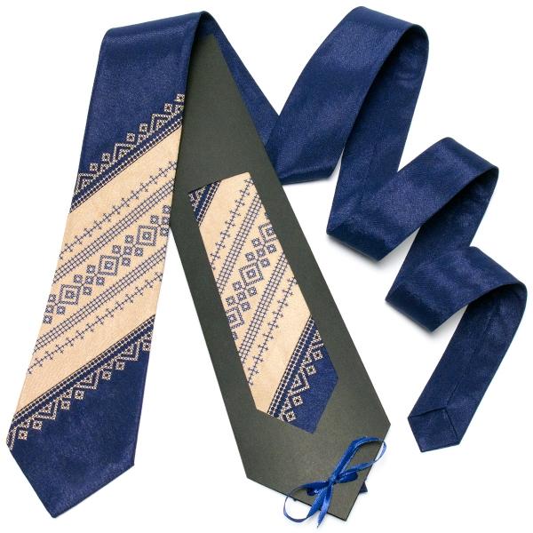 Оригінальна вишита краватка №647