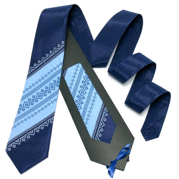 Оригінальна вишита краватка №648