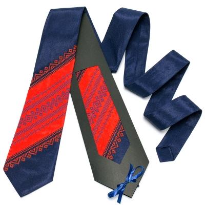 Оригінальна вишита краватка №649