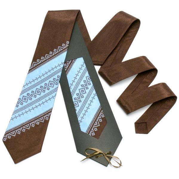 Оригінальна вишита краватка №650