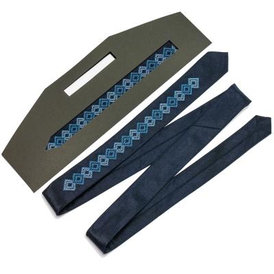 Тонка вишита краватка Володислав