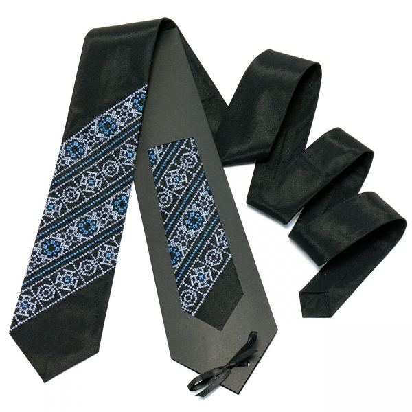 Чорна краватка №610