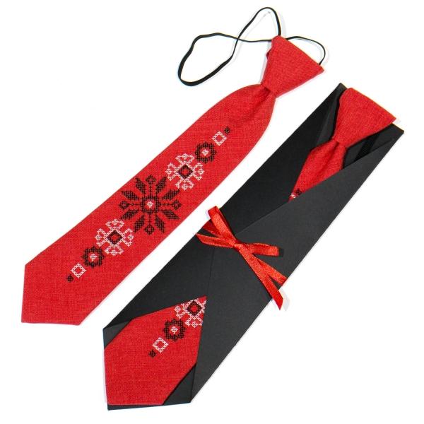 Дитяча вишита краватка №777