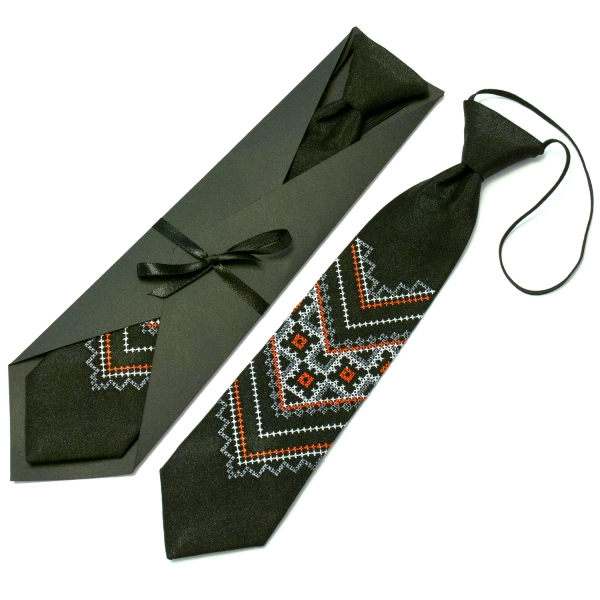 Дитяча вишита краватка №591