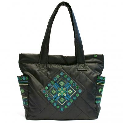 Дута сумка з вишивкою №1