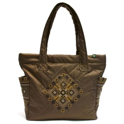Дута сумка з вишивкою №2