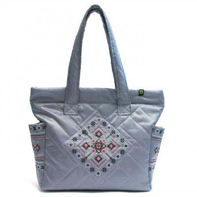 Дута сумка з вишивкою №3