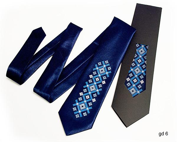 Дитячий галстук з вишивкою Тихон