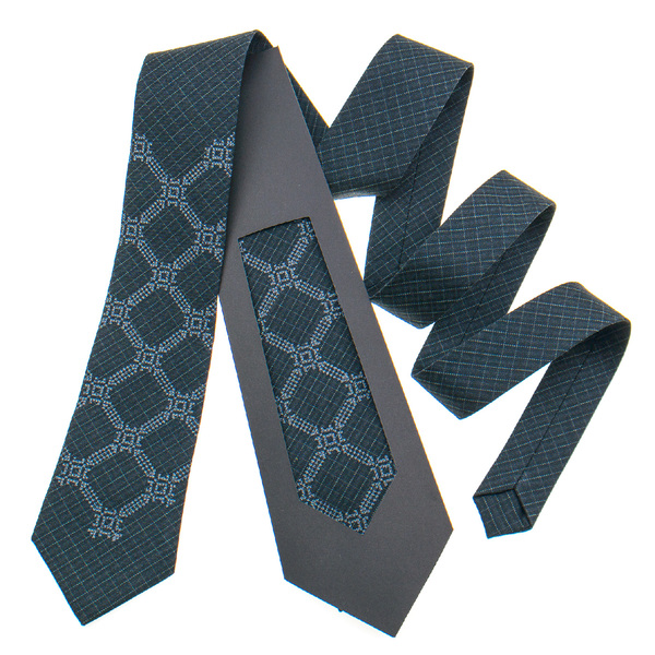 Класична краватка з вишивкою №839