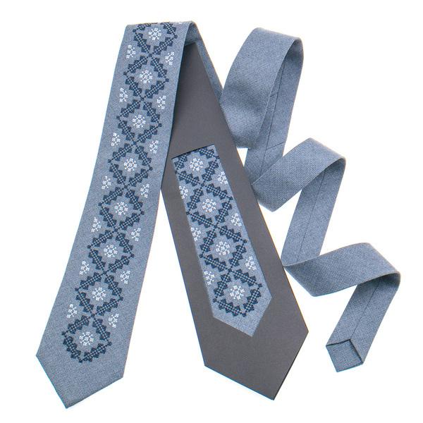 Класична краватка з вишивкою №850