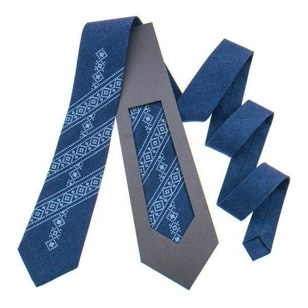 Класична краватка з вишивкою №846