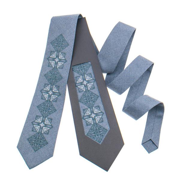 Класична краватка з вишивкою №848