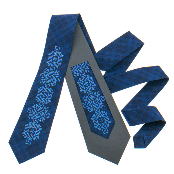 Класична краватка з вишивкою №917
