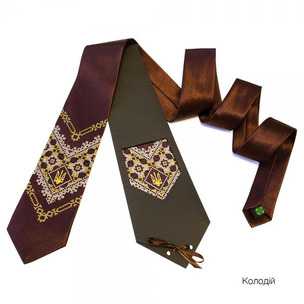 Краватка з вишивкою Колодій