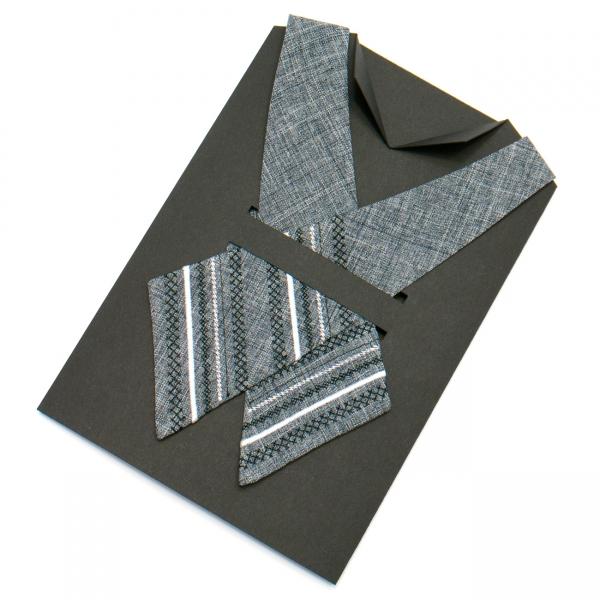 Вишита крос-краватка №702