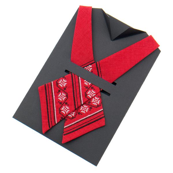 Вишита крос краватка №871