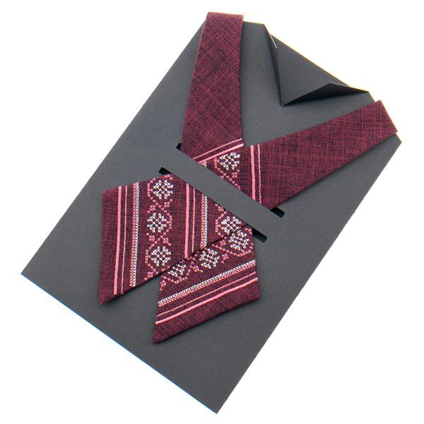 Крос краватка з вишивкою №872