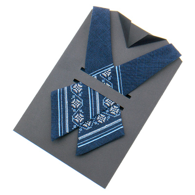 Крос краватка з вишивкою №873