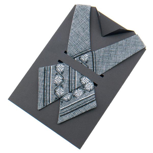 Крос краватка з вишивкою №874