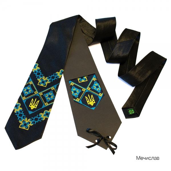 Краватка з вишивкою Мечислав