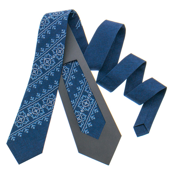 Модна вишита краватка №798