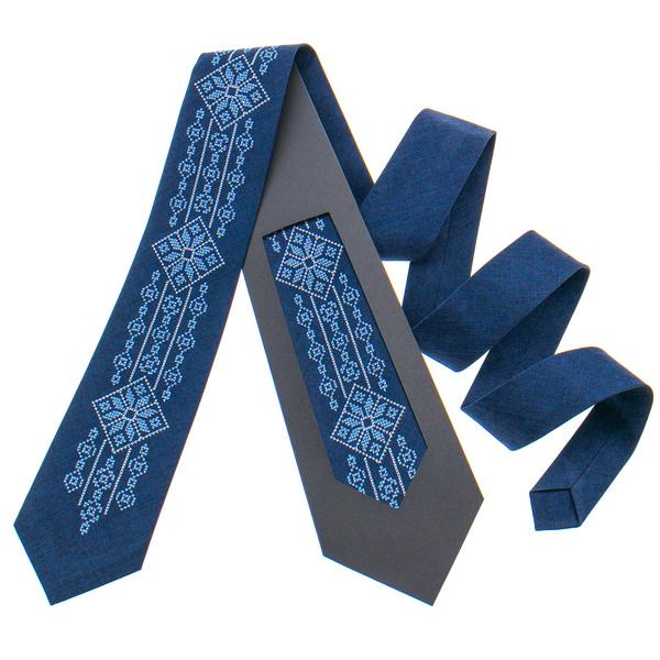 Модна вишита краватка №799