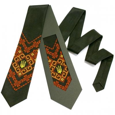 Вишита краватка з тризубом Надій