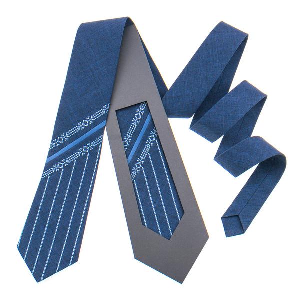 Оригінальна вишита краватка №847