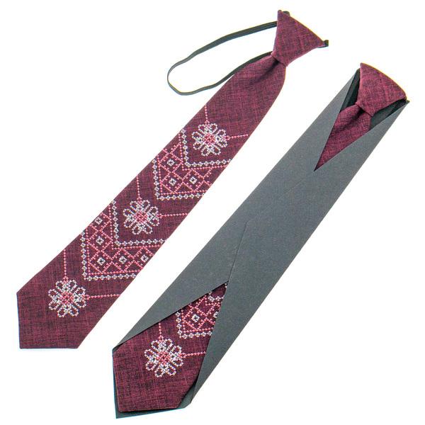 Підліткова вишита краватка №925